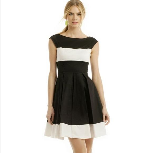 kate spade Dresses & Skirts - Kate Spade Adette Dress 💯 authentic black & white